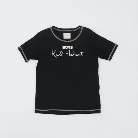 Karl Helmut|Tシャツ|黒|120