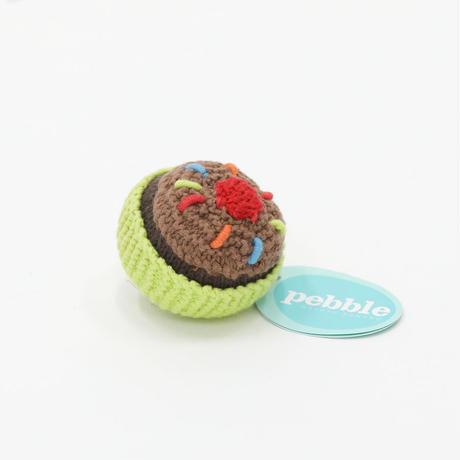 ぺブル|カップケーキ|ライム|チョコレートアイス&チェリーのせ|アウトレット