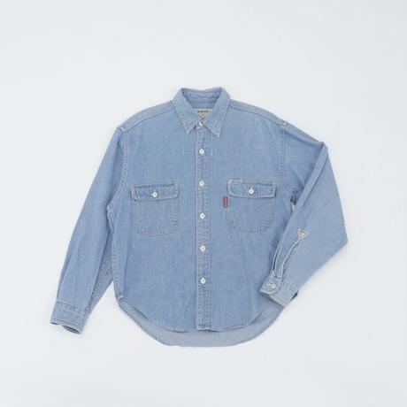 Bobson|シャツ|ブルー|130|アウトレット