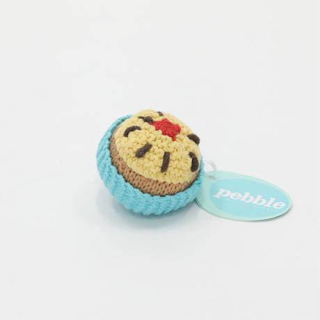 ぺブル|カップケーキ|ターコイズ |イエローアイス&チェリーのせ |アウトレット