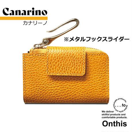 【...to®・Onthis】スマートキーも入るマルチウォレット・Canarino(カナリーノ)<メタルフックスライダー>