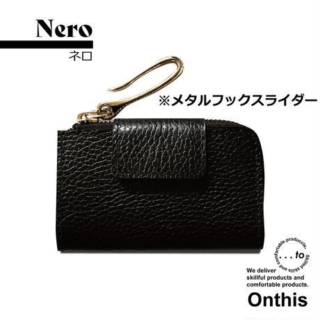 【...to®・Onthis】スマートキーも入るマルチウォレット・Nero(ネロ)<メタルフックスライダー>