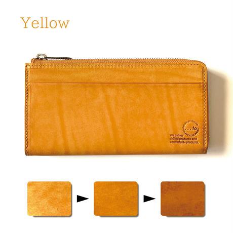 【...to®・Olga】カードが一目瞭然!徹底的に使いやすさにこだわった長財布・Yellow(イエロー)