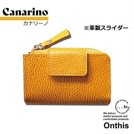 【...to®・Onthis】スマートキーも入るマルチウォレット・Canarino(カナリーノ)<革製スライダー>