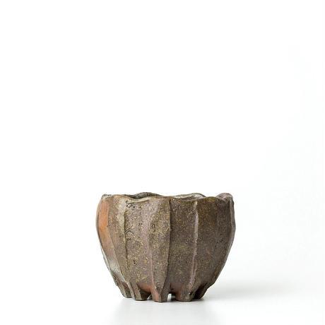 備前窯変植木鉢 BKU-033