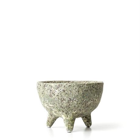 緑彩足付植木鉢 ONT-017