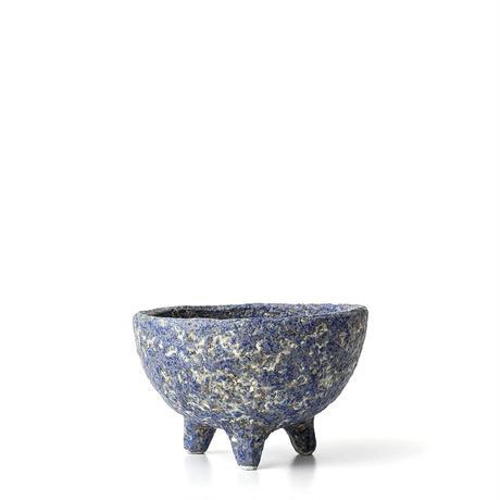 青彩足付植木鉢 ONT-015