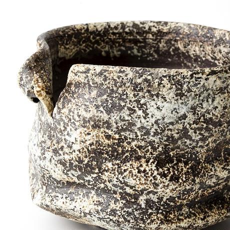 泥彩沓形植木鉢 ONT-007