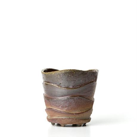 備前波紋植木鉢 BKU-038