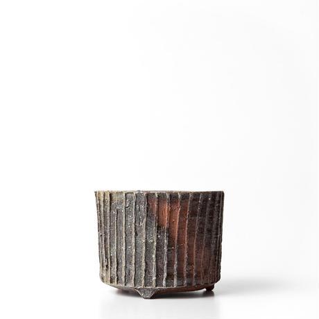 備前線紋植木鉢 BTS-002