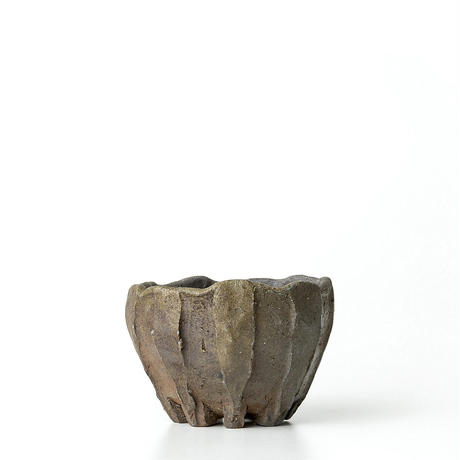 備前窯変植木鉢 BKU-032