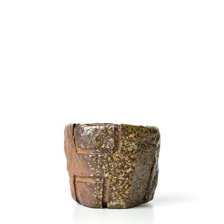 備前刳貫植木鉢 BKU-041
