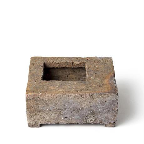 原土四方植木鉢 BKU-030