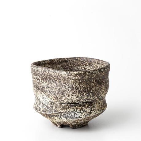 泥彩沓形植木鉢 ONT-004