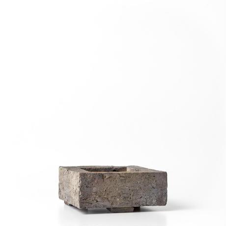 原土四方植木鉢 BKU-029