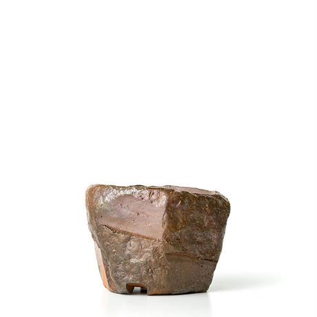 備前刳貫植木鉢 BKU-043