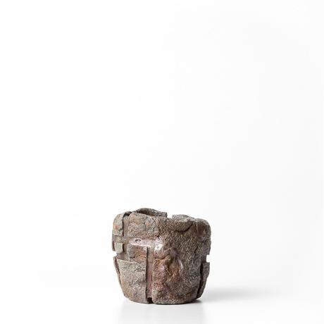 備前刳貫植木鉢 BKU-007