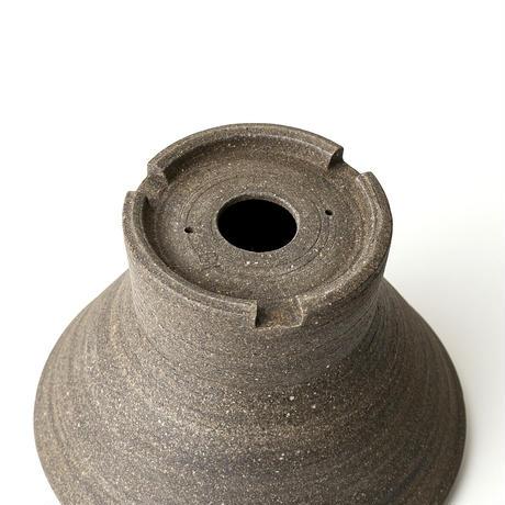 [ BS modern ] 炭化焼き締め/鼓鉢 KSF-001