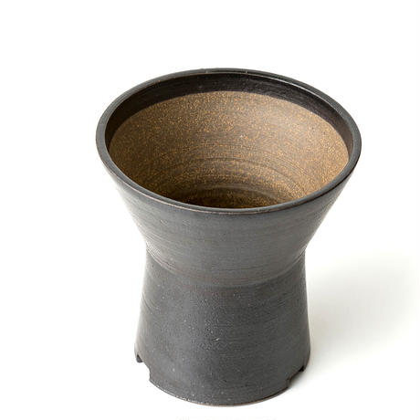 [ BS modern ] 錆黒釉/鼓鉢 KSF-005