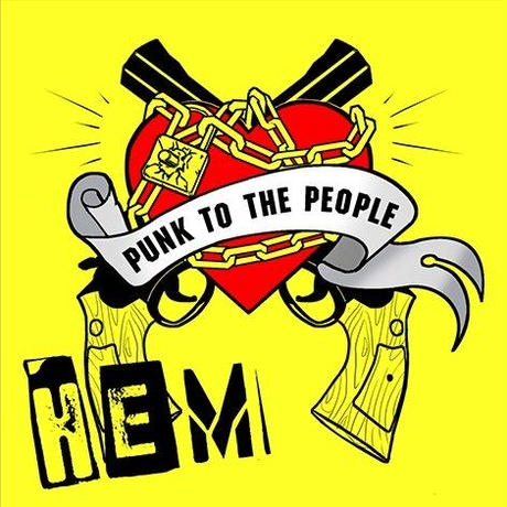 「PUNK TO THE PEOPLE」HEM
