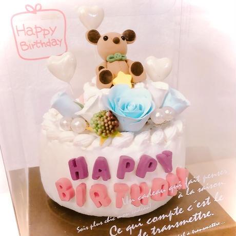 birthdayクレイケーキ