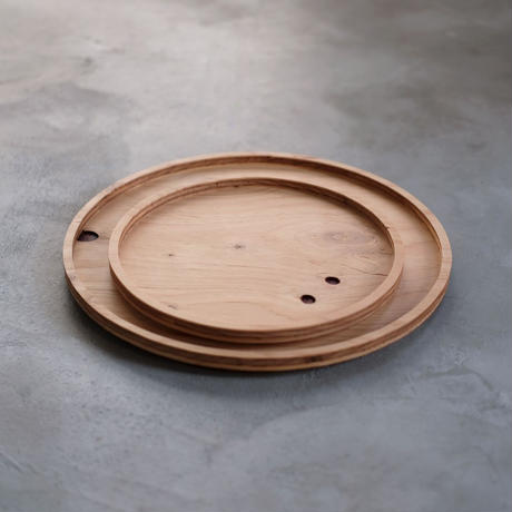 Plywood Tray / Round L