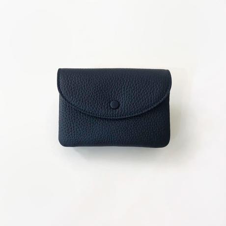 WA 071B M BR, NVY  <内縫いフラップ財布M>