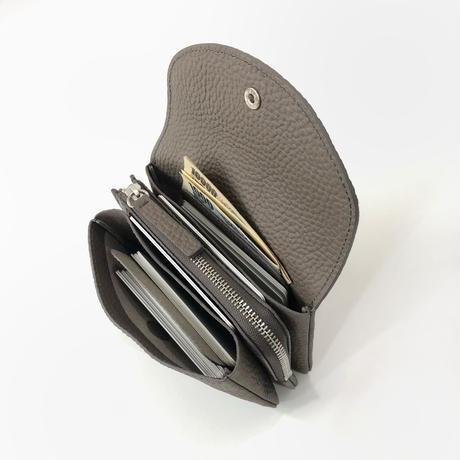 WA 071B M BR, CHL  <内縫いフラップ財布M>