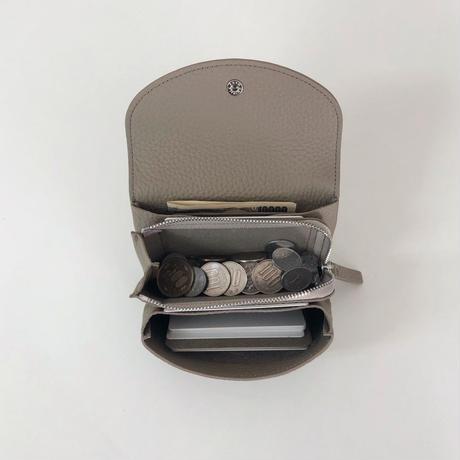 WA 071B M BR, BEI  <内縫いフラップ財布M>