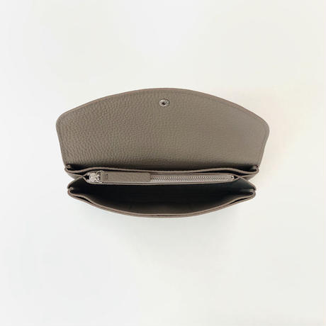 WA 070 L BR,BEI   <内縫いフラップ財布L>