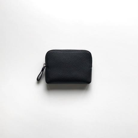 WA 075 M BR, BLK  <内縫いラウンドファスナー財布M>