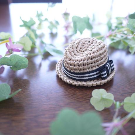 中折れ帽子リボン(リカちゃんサイズ)