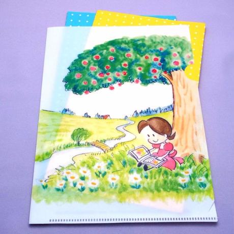 『小さな恋のものがたり』クリアファイル(森の中で)