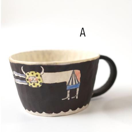 ラッパッパカップ  (ブラック・ブルー)     高山愛