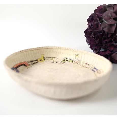 カレー皿(ホワイト)    高山愛