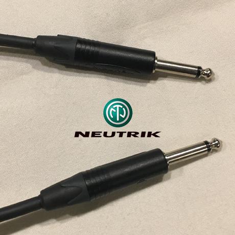 BELDEN 9395 / 5m 楽器・機材用ケーブル:S型⇔S型 (コネクタのブランドはお選び頂けます)