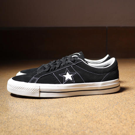 CONVERSE CONS ONE STAR PRO OX 159579C  BLACK/WHITE/WHITE (N)