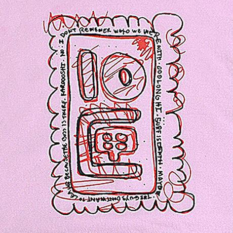 TEN BOX(テンボックス) A  TENBOX HOODIE (PINK)