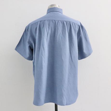 UNITUS(ユナイタス) P&F Half Sleeve Shirt Sax【UTSSS20-S09】(N)