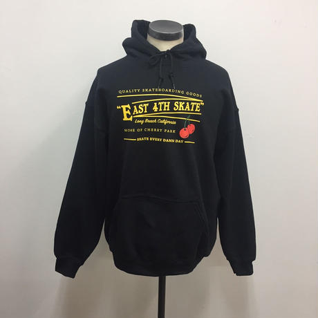 EAST 4th Skate Cherry Hoodie BLK