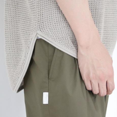 SOLARIS&Co.(ソラリスアンドコー) Cotton Loose Fit  Knit Vest Beige【S20SS-SR05】(N)