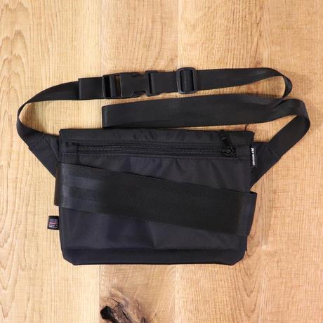 IGNOBLE (イグノーブル)  11031 Abstraction Hip Bag  Black(N)