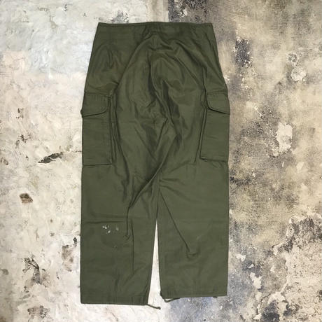 70's Canadian Army Over Pant【 V-3】Vintage(N)