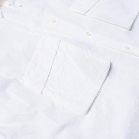 UNITUS(ユナイタス) Patch & Flap Half Sleeve Shirt White【UTSSS21-S09】(N)