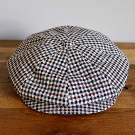 SOLARIS HATMAKERS & Co. CLASSIC CASQUETTE OLDBOY TRICO CHECKED【SH19SS-08】(N)