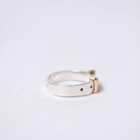 Hermès Vintage(エルメス ヴィンテージ) Combination Ring【Hermès ‑ R550】12号(N)