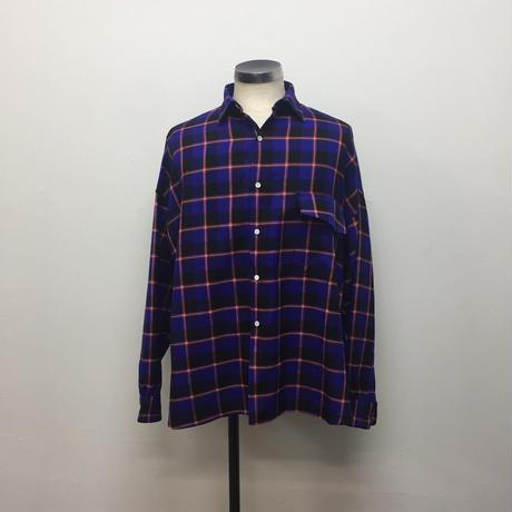 UNITUS(ユナイタス) FW18 Over Shirt Blue Check【UTSFW18-S02】(N)