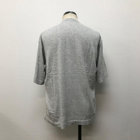 crepuscule クレプスキュール  knit tee S/S 1801-008 L.gray