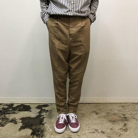 UNITUS(ユナイタス) SS18 Peg Top Pants Beige【UTSSS18-P05】(N)