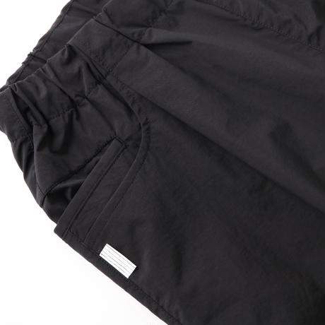 S.F.C TAPERED EASY SHORTS NYLON Black【SFCSS21P04】(N)